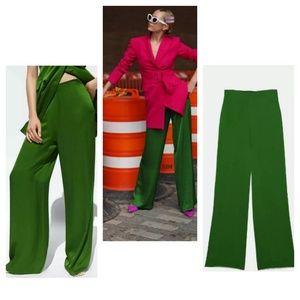 Zara satin pants (4479)